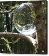 4-22-16--8699 Don't Drop The Crystal Ball, Crystal Ball Photography  Acrylic Print