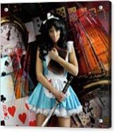 Alice In Wonderland Acrylic Print