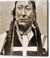 American Indian Chief Acrylic Print