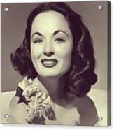 Ann Blyth, Vintage Actress Acrylic Print