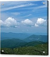 Appalachian Trail - White Mountains New Hampshire Usa Acrylic Print