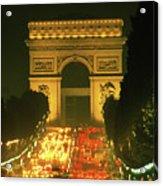 Arc De Triomphe In Paris 2 Acrylic Print