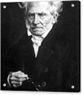 Arthur Schopenhauer Acrylic Print