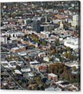 Asheville Aerial Photo Acrylic Print