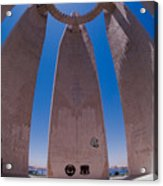 Aswan Dam Memorial Acrylic Print