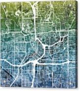 Atlanta Georgia City Map Acrylic Print