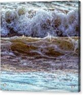 Atlantic Waves Acrylic Print