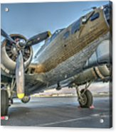 B17 Flying Fortress On The Ramp At Livermore Acrylic Print