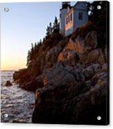 Bass Harbor Head Lighthouse Acadia National Park Acrylic Print