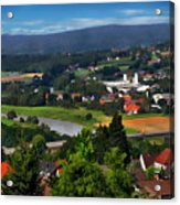 Bavarian Landscape Acrylic Print