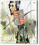 Benjamin Disraeli Acrylic Print