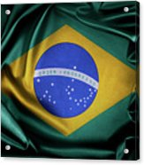 Brazil Flag Acrylic Print