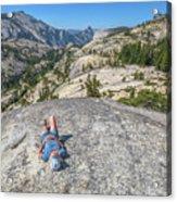 Break After Yosemite Hiking Acrylic Print