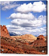 Capitol Reef National Park Burr Trail Acrylic Print