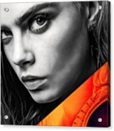 Cara Delevingne Collection Acrylic Print