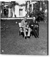 Casablanca Conference Acrylic Print
