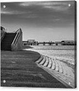 Central Pier Blackpool Acrylic Print