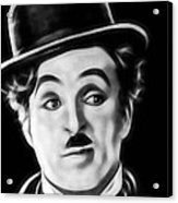 Charlie Chaplin Collection Acrylic Print