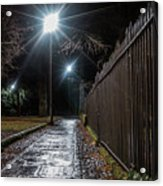 Chester After Dark Series Acrylic Print