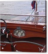 Chris Craft Runabout Acrylic Print
