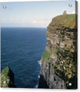 Cliffs Of Moher In Ireland Acrylic Print