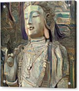 Colorful Indian Diety Figure Acrylic Print
