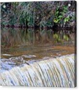 Cramond Waterfall Acrylic Print