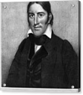 Davy Crockett (1786-1836) Acrylic Print by Granger