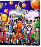 Dragon Ball Super Acrylic Print