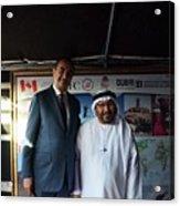 Dubai Travelers Festival Acrylic Print
