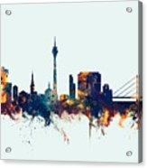 Dusseldorf Germany Skyline Acrylic Print