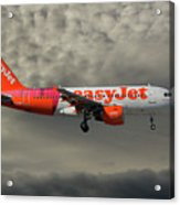 Easyjet Tartan Livery Airbus A319-111 Acrylic Print
