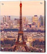 Eiffel Tower At Sunrise - Paris Acrylic Print