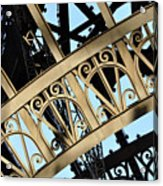Eiffel Tower Detail Acrylic Print