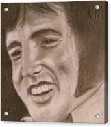 Elvis Acrylic Print