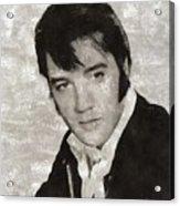 Elvis Presley, Legend  Acrylic Print