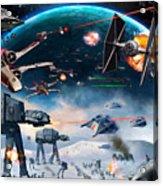 Episode 1 Star Wars Art Acrylic Print