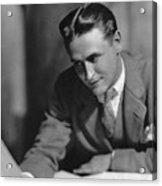 F. Scott Fitzgerald Acrylic Print