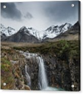 Fairy Pools Of River Brittle Acrylic Print