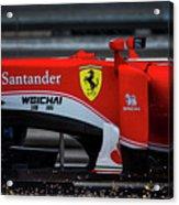 Ferrari Formula 1 Kimi Raikkonen Acrylic Print