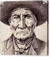 Geronimo Acrylic Print