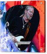 Gregg Allman Art Acrylic Print