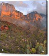 Guadalupe Mountains Sunrise Acrylic Print