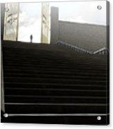 Heavens Gates And Silhouette Acrylic Print