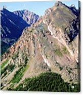 Hiking The Mount Massive Summit Acrylic Print