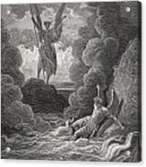 Illustration By Gustave Dore 1832-1883 Acrylic Print