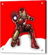 Iron Man Collection Acrylic Print