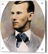 Jesse James, 1847-1882 Acrylic Print