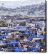 Jodhpur - India Acrylic Print