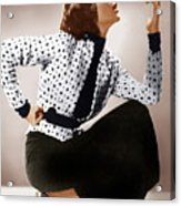 Katharine Hepburn, Ca. 1930s Acrylic Print